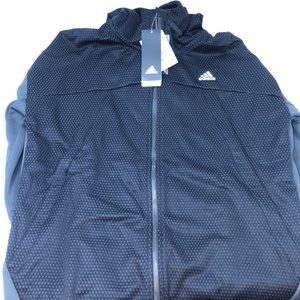 adidas ABL Crusher Men's Utility black zip up